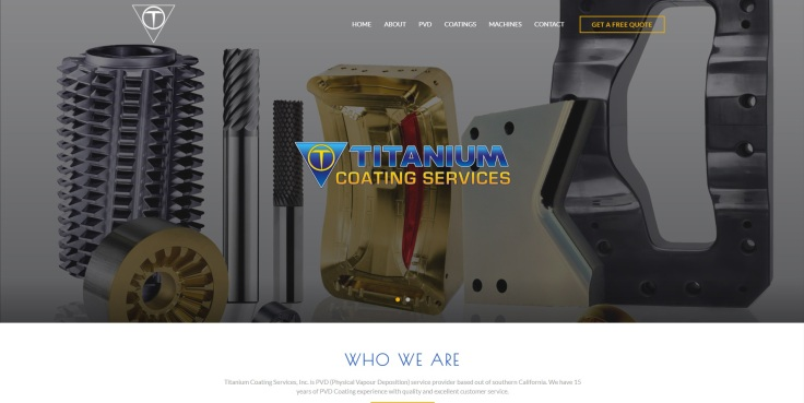 titanium coating services